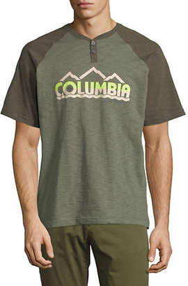 Columbia Lookout Point Graphic Henley