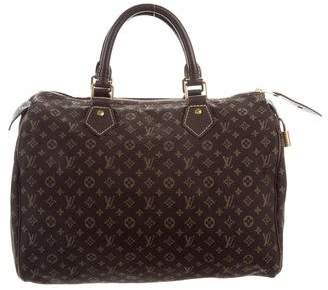 1be7585581a5 Louis Vuitton Mini Lin Speedy 30