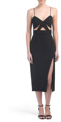 Roper Cut Out Midi Dress