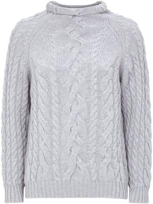 Harrods Cable-Knit Cashmere Sweater
