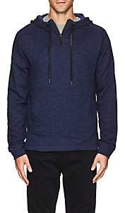Blank NYC Blanknyc Men's Cotton-Blend Terry Hoodie - Blue Size Xl