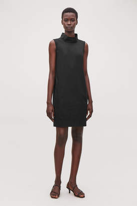 Cos HIGH-NECK COCOON DRESS