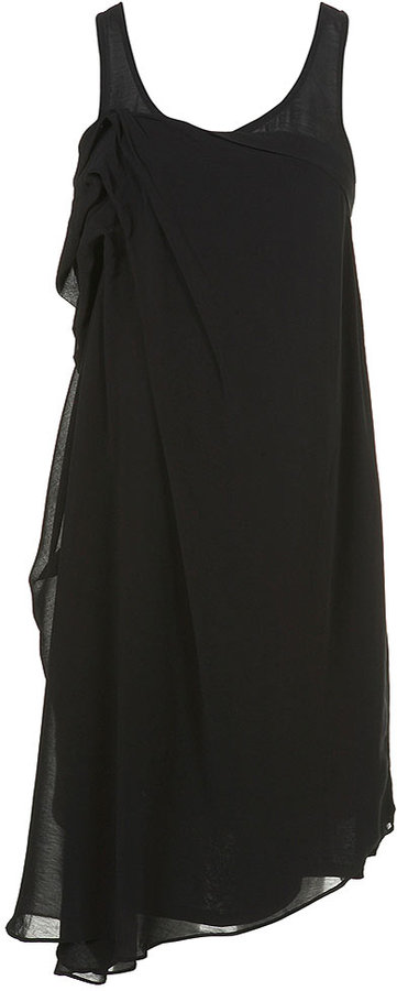 Maternity Fold Front Dress