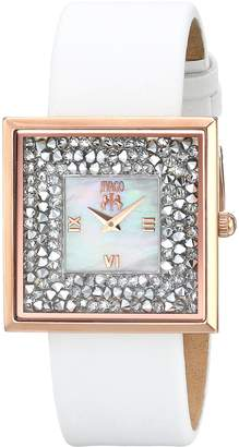 Jivago Women's Fashion JV7412 Brillance-S Collection Mother Of Pearl Dial Quartz Analog Watch