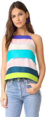 Milly Trapeze Camisole $325 thestylecure.com