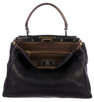 b2d838547fa5 Fendi Selleria Medium Peekaboo Bag