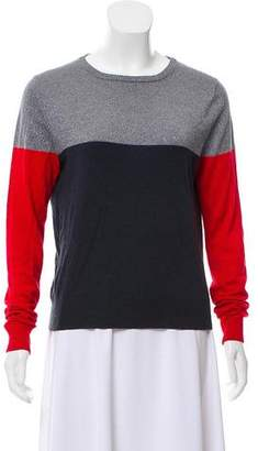 Boy By Band Of Outsiders Metallic Colorblock Sweater