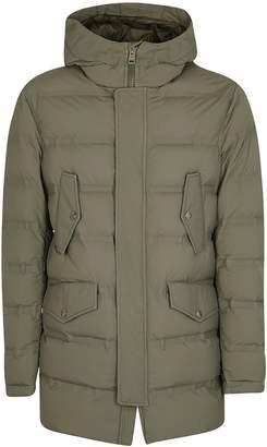 Kired Buttoned Pocket Padded Jacket