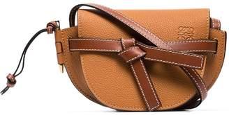Loewe Tan Mini Gate Saddle Bag