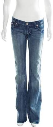 Victoria Beckham Low-Rise Flared Jeans