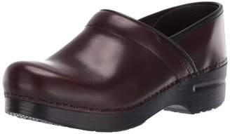 Dansko Women's Professional Shoe, black cabrio, 36 M EU (5.5-6 US)