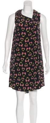 Rachel Comey Silk Printed Mini Dress