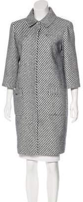 Chanel 2016 Tweed Coat