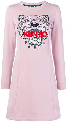 Kenzo Tiger embroidered dress