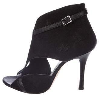 Camilla Skovgaard Ponyhair Cutout Sandals