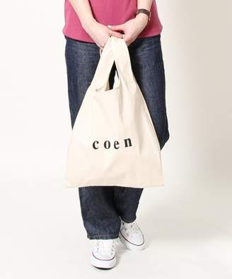 Coen (コーエン) - coen coenロゴマルシェバッグ