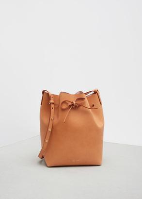 Mansur Gavriel cammello / rosa bucket bag $595 thestylecure.com