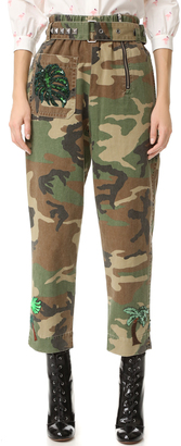 Marc Jacobs Camo Belted Pants $695 thestylecure.com