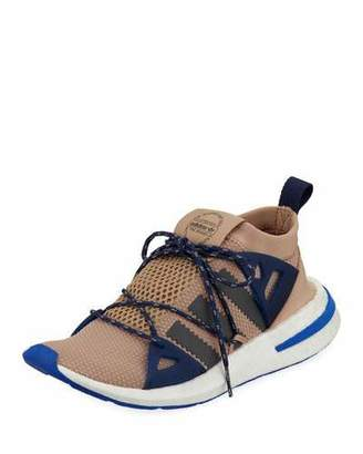adidas Arkyn Colorblock Mesh Sneakers, Ash/Pearl Gray
