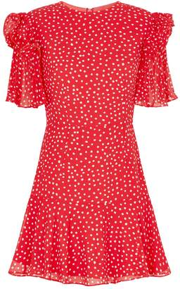 Keepsake The Label Moonshine Polka Dot Mini Dress