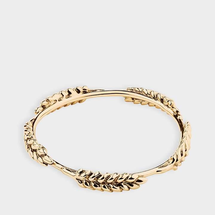 Aurélie Bidermann 5 Wheat Cobs Bracelet in 18K Gold-Plated Brass wNXVv