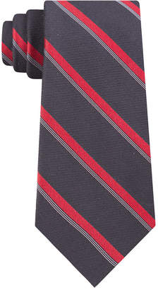 Calvin Klein Men Molten Bar Stripe Slim Tie