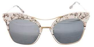 Gentle Monster Reflective Tinted Sunglasses