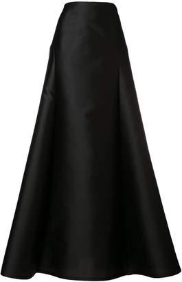 Alberta Ferretti full high waisted skirt