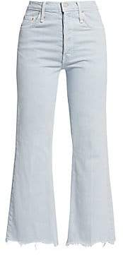 Mother Women's Tripper Ankle Chewed Hem Jeans