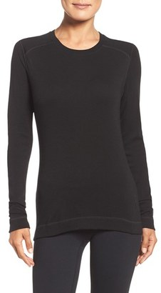 Women's Smartwool Crewneck Tee $95 thestylecure.com