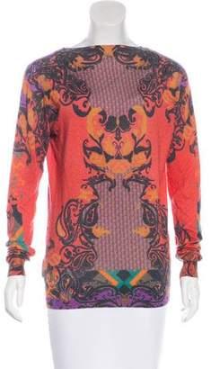 Etro Silk & Cashmere Printed Sweater