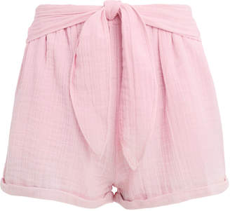 Anaak Maithili Tie Shorts