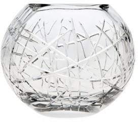 Godinger Glass Rose Bowl