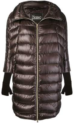 Herno padded high neck coat