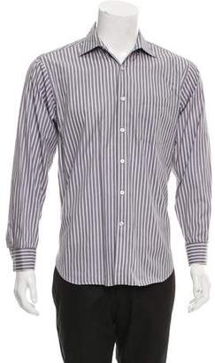 Michael Kors Striped Button-Up Shirt