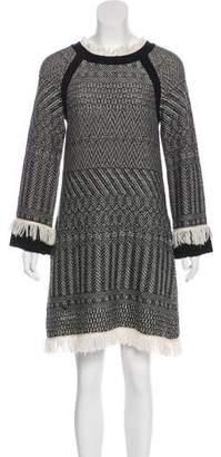Philosophy di Lorenzo Serafini Wool Shift Dress