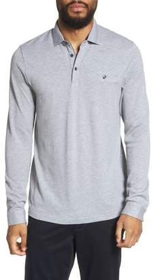 Ted Baker Scooby Trim Fit Long Sleeve Polo Shirt