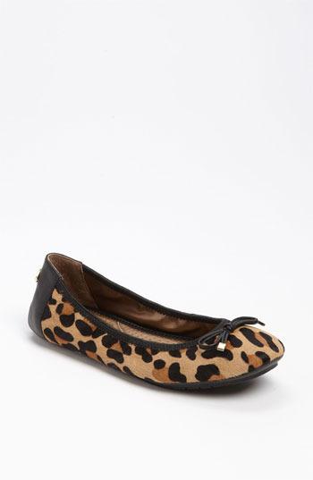 Me Too 'Halle' Ballet Flat Tan Jaguar 6 M