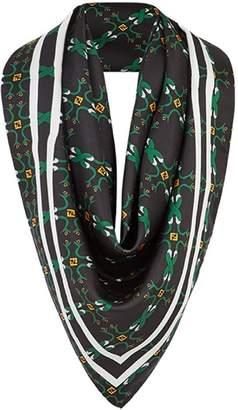 Fendi Kefiah printed scarf