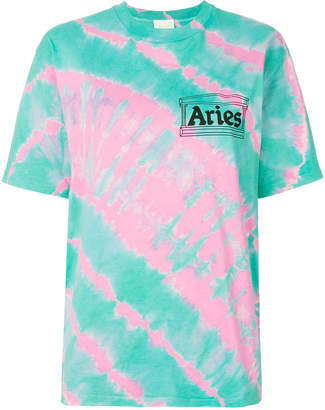 Aries tie-dyed T-shirt