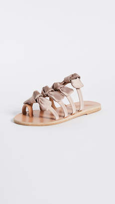 Ancient Greek Sandals Hara Bow Slide Sandals