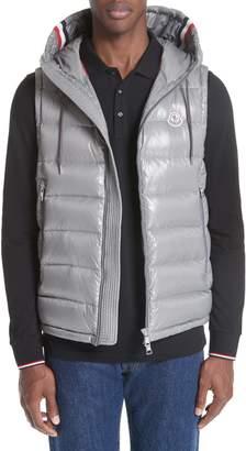Moncler Lanoux Down Hooded Vest