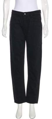 Alexander Wang High-Rise Straight-Leg Jeans w/ Tags