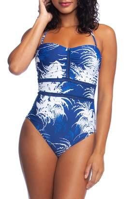 b7877c1a3b184 La Blanca One Piece Swimsuit Bandeau - ShopStyle