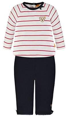 Steiff Girl's 2tlg T-Shirt 1/1 Arm + Leggings 6832005 Clothing Set,9-12 Months