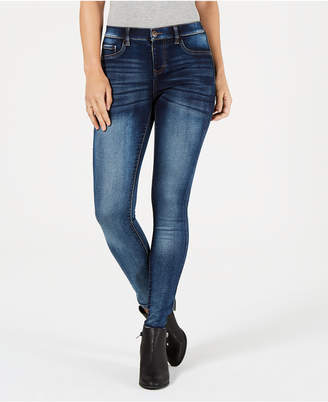 Style&Co. Style & Co Petite Faux-Fly Skinny Jeans