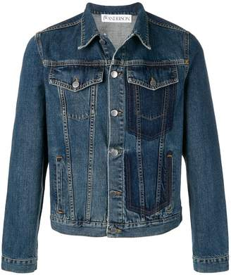J.W.Anderson shaded pocket detail denim jacket