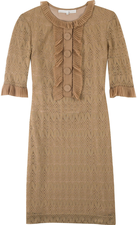 3.1 Phillip Lim Lace-style shift dress