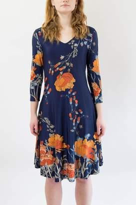Last Tango Navy Floral Dress