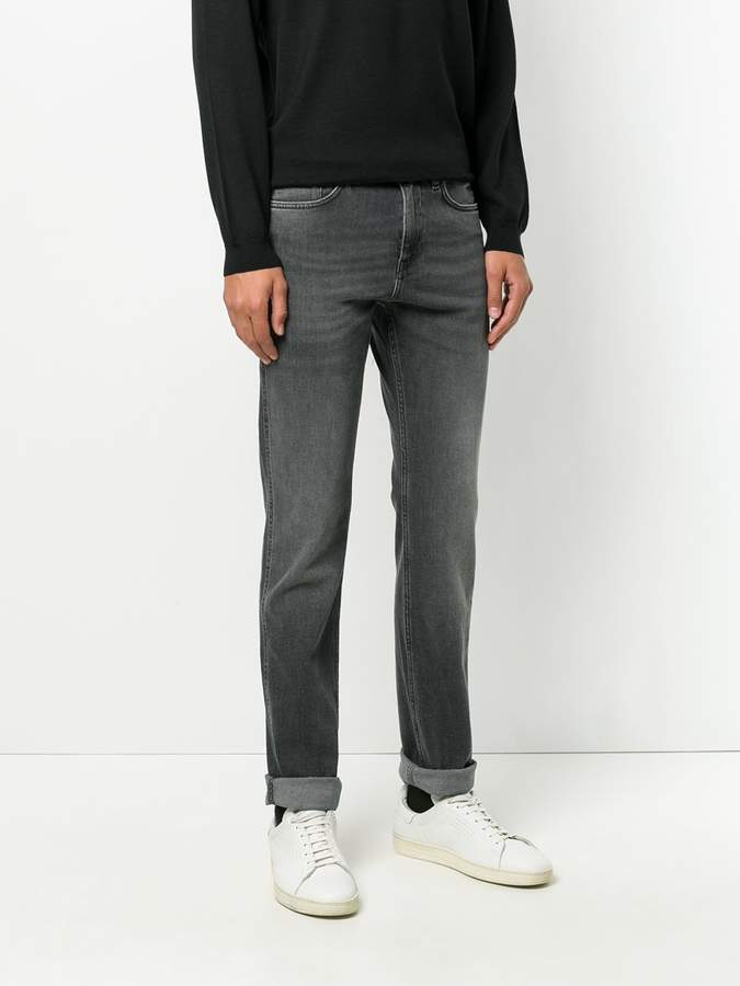 HUGO BOSS boot-leg jeans